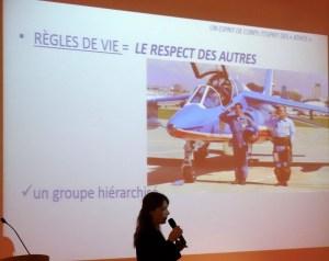 Virginie Guyot, Leader de la Patrouille de France