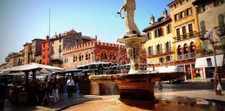Le centre historique : Piazza Delle Erbe et Piazza dei Signori