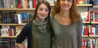 Juliette Condamy et Isabelle Rosset de la Maison de la Presse au Vésinet