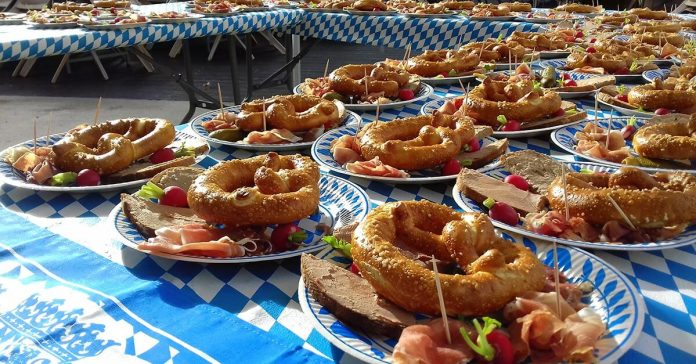 Les 220 bretzels confectionnés par la boulangerie Hazard sont partis… comme des petits pains
