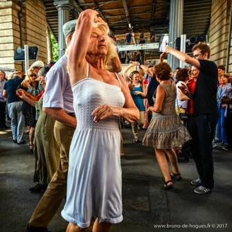 Bal Populaire A Paris, France