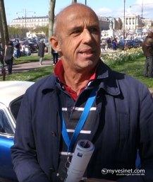 François Clerget au Rallye d'Aumale 2018