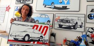 (PORTRAIT) Fabrice Vandevelde un artiste sur les chapeaux de roues !