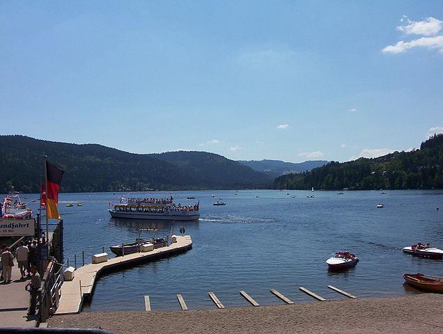 Titisee et Schluchsee : deux lacs magnifiques, et très touristiques. Le Schluchsee est le plus grand lac de Forêt-Noire, avec 500 ha.