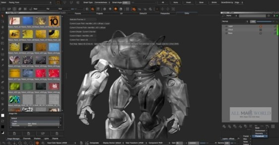 Allegorithmic Substance Designer 2018 for Mac - Adobe After Effects