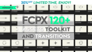 VIDEOHIVE FCPX 344+ TRANSITIONS AND SOUND FX - Adobe After Effects