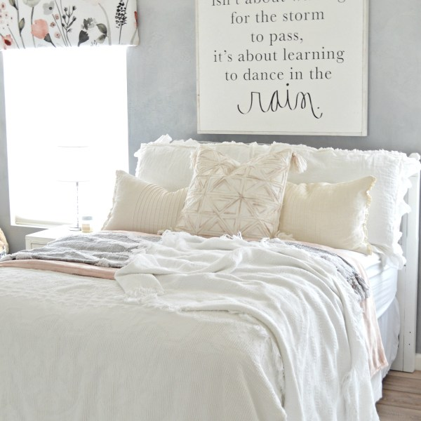 Valance DIY And Bedroom Refresh