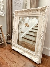 Chalk Painting and Antiquing A Frame