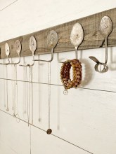 DIY Spoon Jewelry Holder