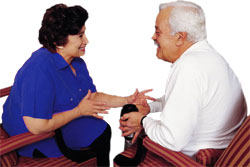 Image result for Communicating with carers dementia picture
