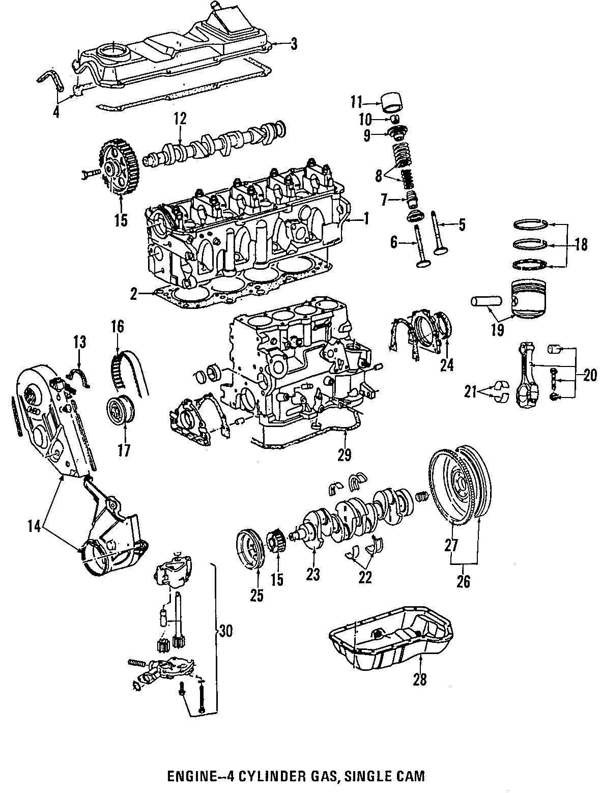Volkswagen Beetle Engine Crankshaft Main Bearing Red