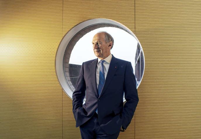 Jean-Paul Agon, PDG de L'Oréal, à Clichy (Hauts-de-Seine), au siège du groupe, le 3mars.