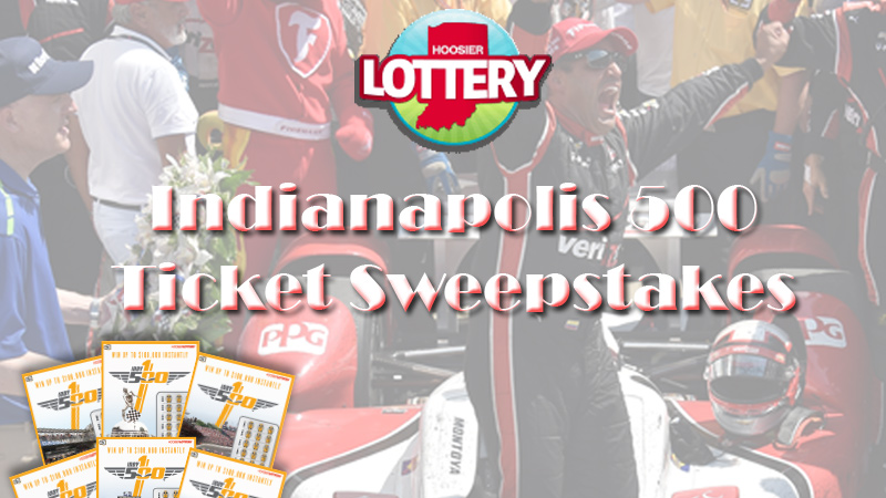 Indy 500 Ticket Sweepstakes 16x9