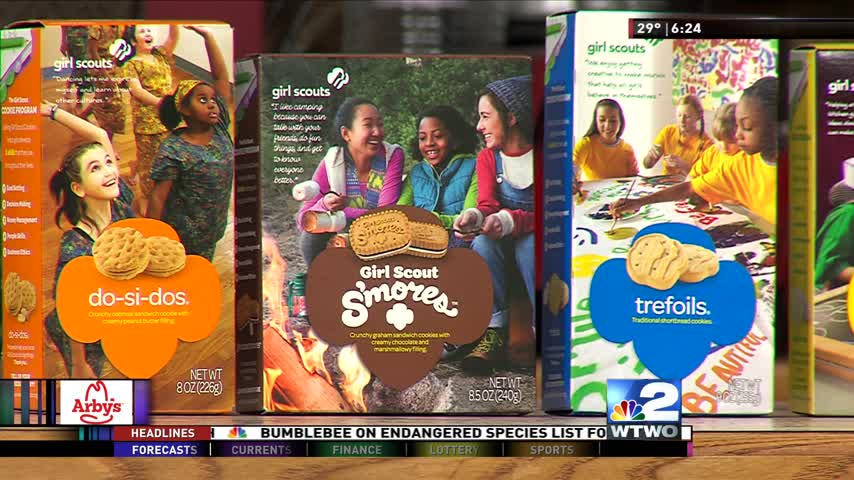 Guest Segment 01/11/17 - Girl Scout Cookies