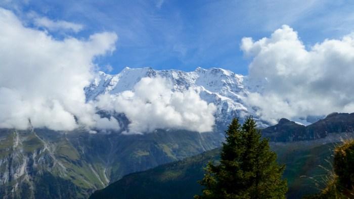 amazing alps views | Via Ferrata Murren to Gimmelwald, Switzerland: One Insane Alpine Adventure!