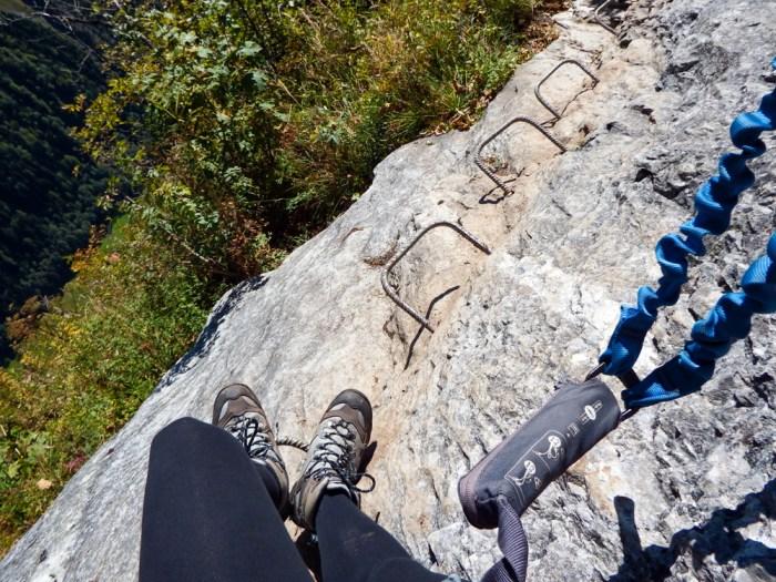 What boots to wear | Via Ferrata Murren to Gimmelwald, Switzerland: One Insane Alpine Adventure!