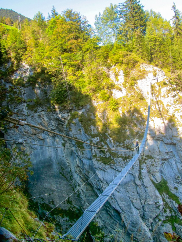 Nepalese Bridge | Via Ferrata Murren to Gimmelwald, Switzerland: One Insane Alpine Adventure!