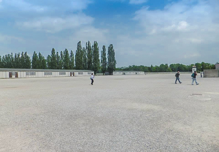 Visiting Dachau Concentration Camp memorial site | outside Munich, Germany | World War 2 | WWII | Roll Call Square