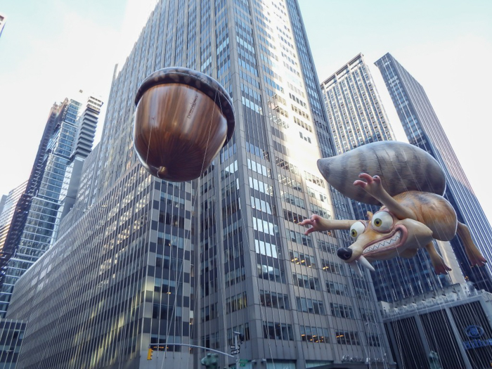Do This, Not That // Macy's Thanksgiving Day Parade   Ice Age balloon at the Macy's Thanksgiving Day Parade in New York City