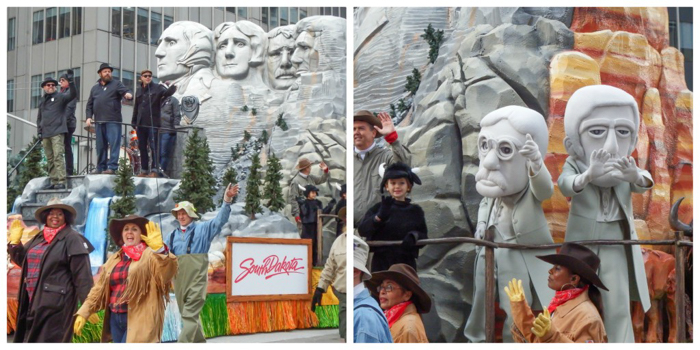 Do This, Not That // Macy's Thanksgiving Day Parade   South Dakota and Mount Rushmore at the Macy's Thanksgiving Day Parade in New York City