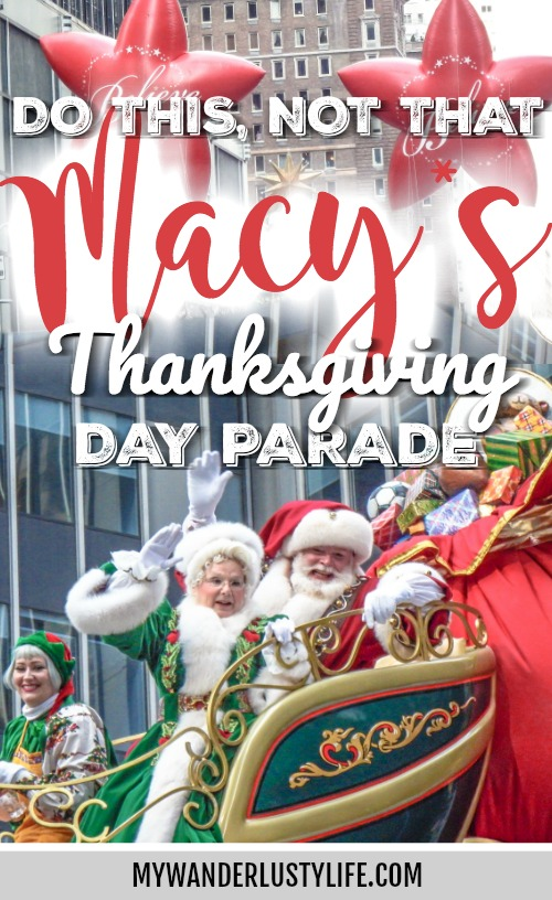 Do This, Not That // Macy's Thanksgiving Day Parade tips   New York City, Manhattan   things to do in new york city   CityPASS #thanksgiving #newyorkcity #parade #manhattan #citypass