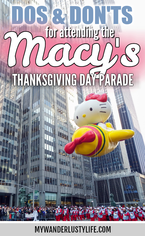 Do This, Not That // Macy's Thanksgiving Day Parade tips | New York City, Manhattan | things to do in new york city | CityPASS #thanksgiving #newyorkcity #parade #manhattan #citypass