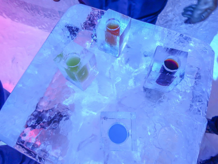 Hôtel de Glace // Straight Chillin' at Québec City's Ice Hotel | Québec City's ice hotel | ice drinks