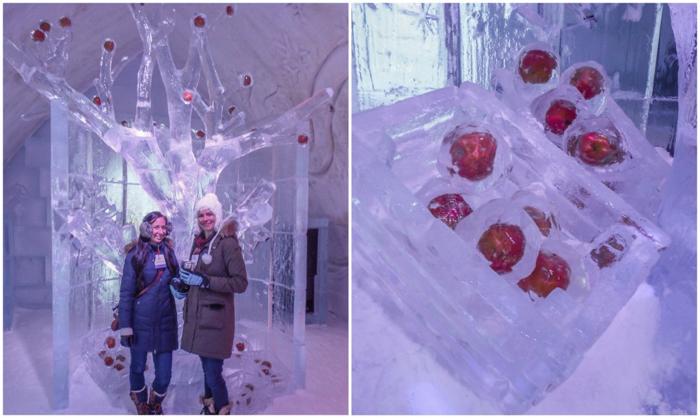 Hôtel de Glace // Straight Chillin' at Québec City's Ice Hotel   Québec City's ice hotel   Bloggers   under the frozen apple tree