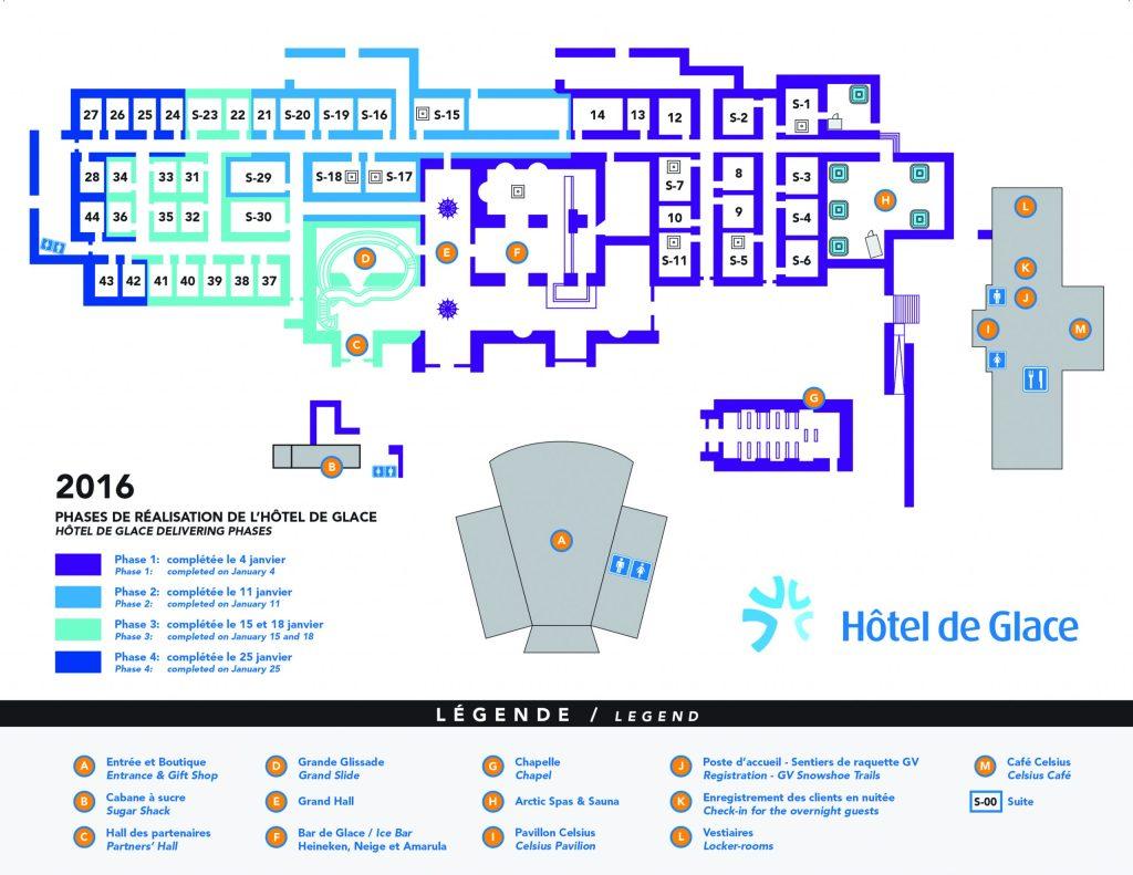 Hôtel de Glace // Straight Chillin' at Québec City's Ice Hotel   Québec City's ice hotel   Map of Hôtel de Glace