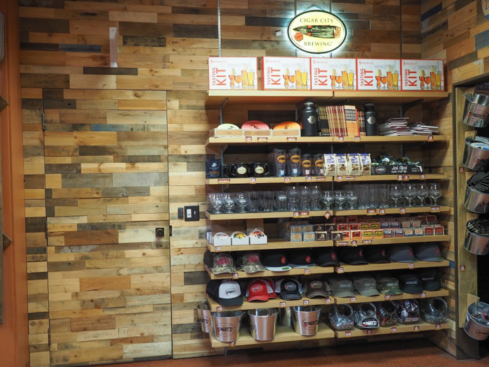 How to Tour Beer // Cigar City Brewery | Tampa, Florida | Cigar City merchandise