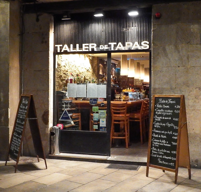 Taller de Tapas restaurant in the gothic quarter of Barcelona, Spain | Where to eat in Barcelona