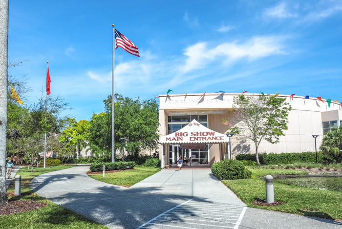 How creepy is the Ringling Brothers Circus Museum   Sarasota, Florida   Barnum and Bailey Circus   Greatest Show on Earth   The Greatest Showman   Circus history   Clowns   What to do in Sarasota   Exterior