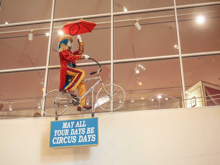 How creepy is the Ringling Brothers Circus Museum   Sarasota, Florida   Barnum and Bailey Circus   Greatest Show on Earth   The Greatest Showman   Circus history   Clowns   What to do in Sarasota   May all your days be circus days