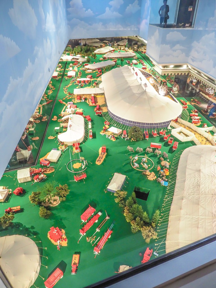 How creepy is the Ringling Brothers Circus Museum   Sarasota, Florida   Barnum and Bailey Circus   Greatest Show on Earth   The Greatest Showman   Circus history   Clowns   Tibbals Learning Center, miniature circus