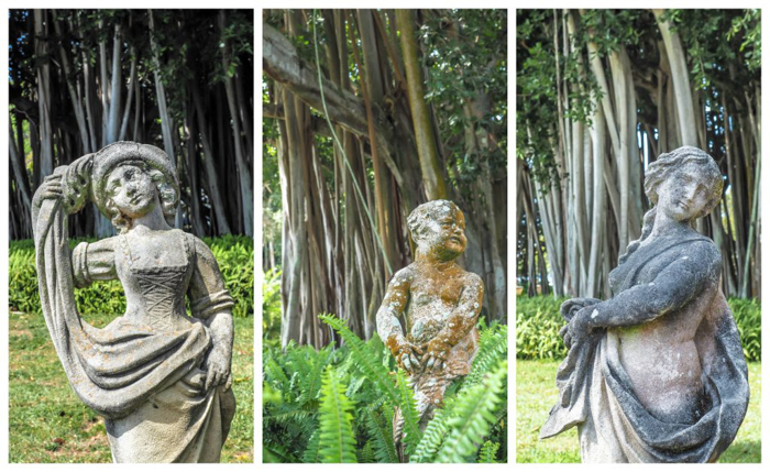 The Ringling // Getting My Italy Fix in Florida | Ringling | Ringling art museum and sculpture garden | Sarasota, Florida | The Ringling art museum | Rose garden | Statues