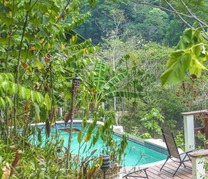 Black Rock Lodge | Belize | The pool at Black Rock Lodge in San Ignacio, Belize