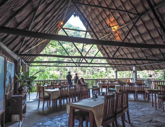 Black Rock Lodge   Belize   The restaurant at Black Rock Lodge in San Ignacio, Belize