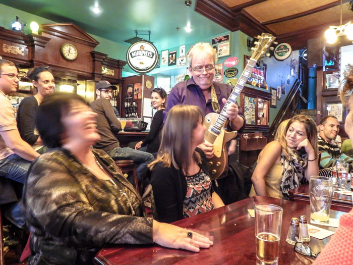 Beer and live music at Pub Saint Alexandre | The Best Spots to Eat + Drink in Québec City