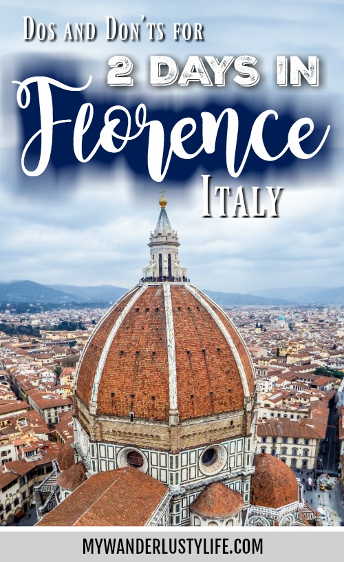 2 days in Florence, Day two, travel tips, dos and don'ts. Exploring Palazzo Vecchio, Duomo, Arno River and ponte vecchio, david, baptistery, gates of paradise, boboli gardens, outdoor markets, street art, and piazzale michelangelo all in one day. #traveltips #florence #italy