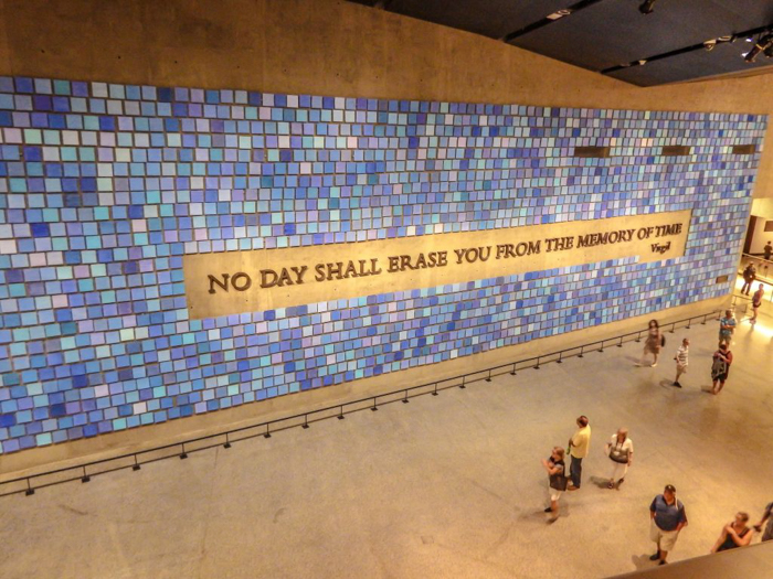Touring the National September 11 Memorial and Museum // Quote by Virgil