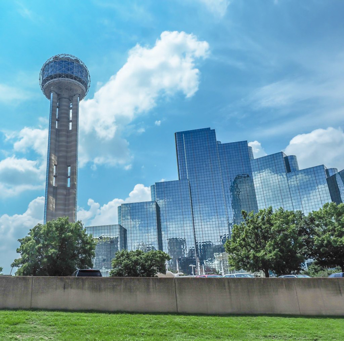 Visiting Reunion Tower for fabulous aerial views in Dallas, Texas courtesy of the Dallas CityPASS