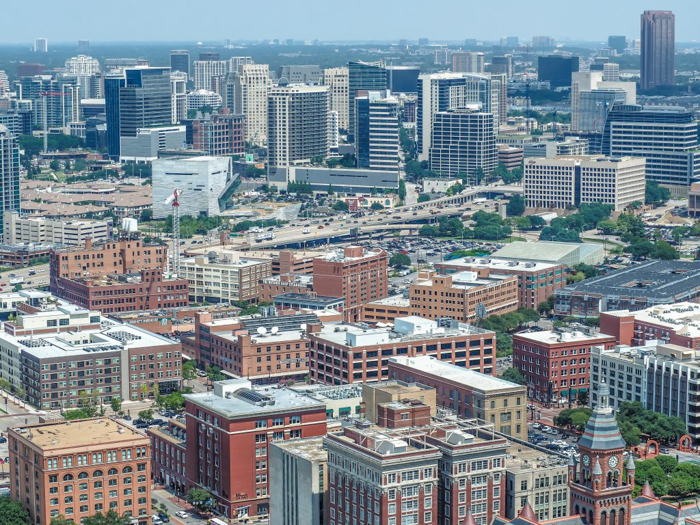 View of downtown from Reunion Tower in Dallas, Texas // Dallas CityPASS