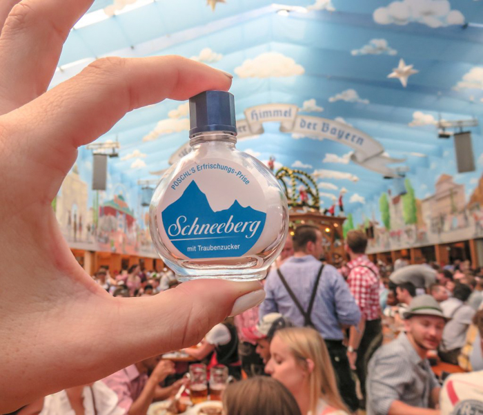 My Wanderlusty Oktoberfest Recap | What it's like at Oktoberfest in Munich, Germany | What it's like to travel to Oktoberfest with Thirsty Swagman | Oktoberfest beer tents | Oktoberfest food and beer | What to wear to Oktoberfest | Oktoberfirsts | Schneeberg | Weinkoks