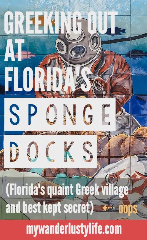 Greeking out at the Tarpon Spring Sponge Docks, Florida's quaint Greek village and best kept secret. Greek food   Sponges   Fishing   Dolphin tours   Shopping