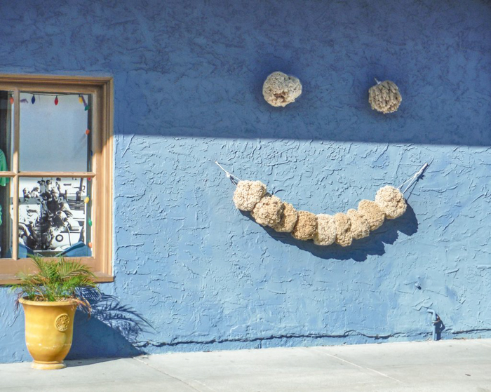 Greeking out at the Tarpon Springs Sponge Docks | What to do in the Tampa Bay area | Greek community | Greek food | Sponge capital of the world | smile