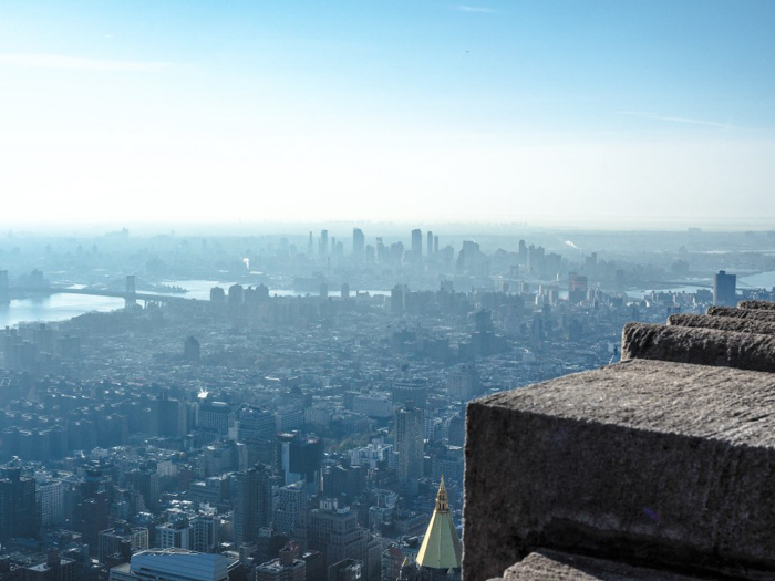 Is the observatory at the Empire State Building the best observation deck in New York City? (Brooklyn)