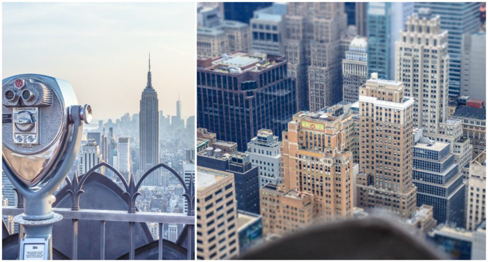 Is Rockefeller Center's Top of the Rock the best observation deck in New York City? (viewing deck)