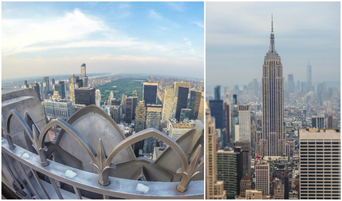Is Rockefeller Center's Top of the Rock the best observation deck in New York City? (Central Park and Empire State Building)