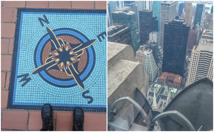 Is Rockefeller Center's Top of the Rock the best observation deck in New York City? (directions and st patricks cathedral)