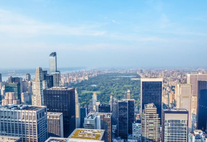 Is Rockefeller Center's Top of the Rock the best observation deck in New York City? (central park)